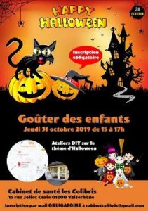 Read more about the article Halloween le  31 octobre 2019