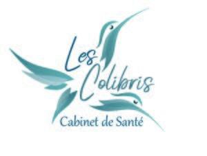 logo cabinet paramédical les colibris